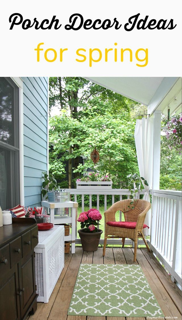 147 Best Spring Porch Decorating Ideas Images On Pinterest