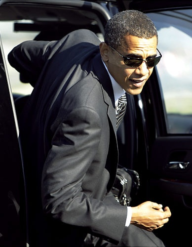 Barack Obama, the first African American president of the United States of American!