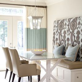Glass Dining Table Design Ideas, Pictures, Remodel, and Decor - page 6