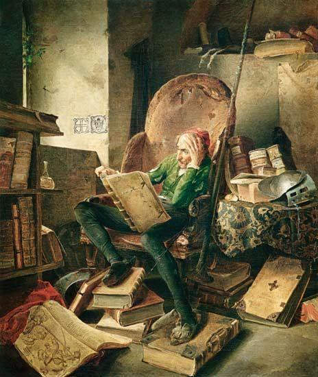 Próspero y Don Quijote, o la pasión por la lectura  