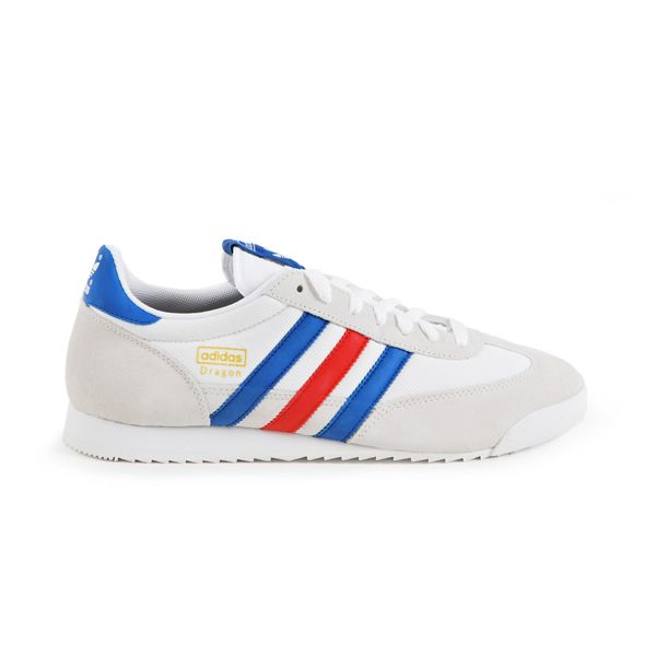 Adidas - Dragon, White Royal Blue Red - € 55,30 #Streetwear #Sneakers #Adidas #Originals