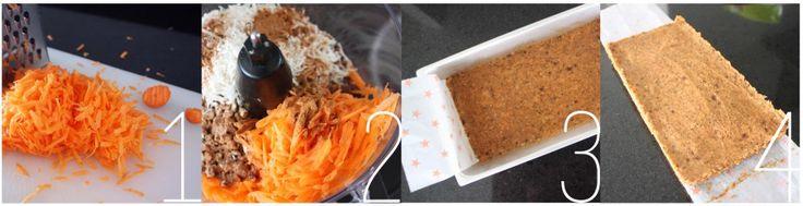 pasos pastel de zanahoria