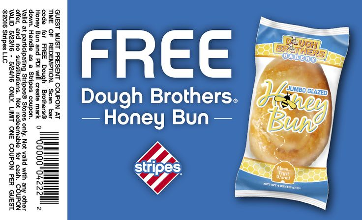 FREE Honey Bun at Stripes Convenience Stores