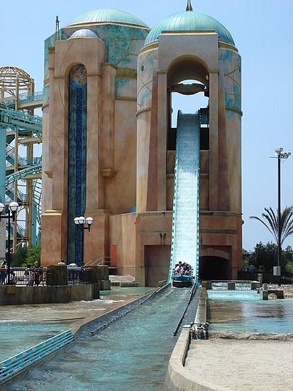 Journey To Atlantis, Seaworld. San Diego,Ca. I love this ride and flip off the camera on the first drop everytime I ride this thing haha!    ### Family Friendly Things To Do in San Diego