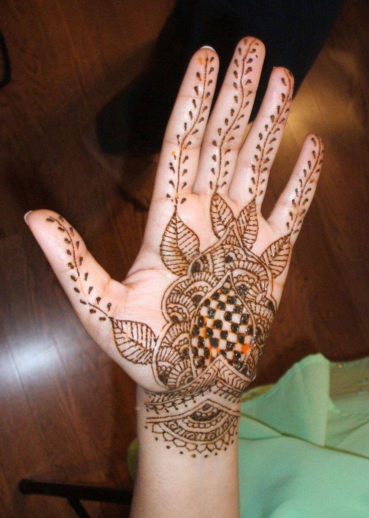 Mehndi Designs Ungli : Mehndi design for hand you like it best