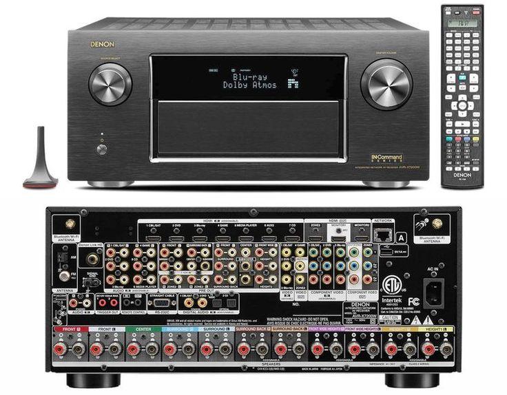 Overview of the Denon AVR-X7200W Home Theater Receiver