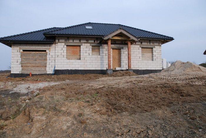 Projekt domu Czaruś stan surowy  #dom #budowa #projekt