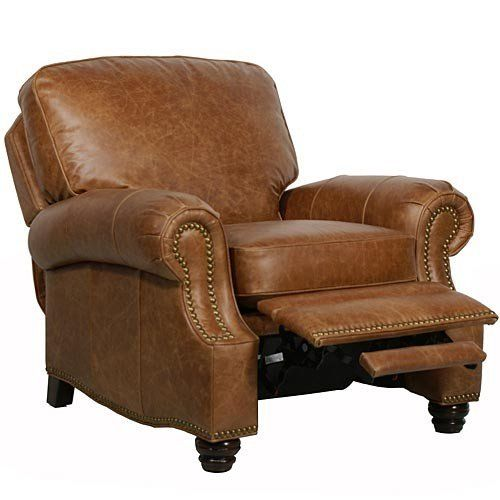 Traditional styling cue and plush comfort. The #Barcalounger Longhorn II is the perfect recliner for both comfort and style. Featuring a solid pillow back, rolle...