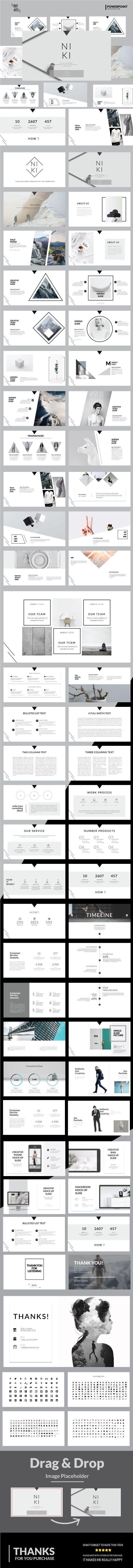 Niki Multipurpose Powerpoint Template - Business PowerPoint Templates
