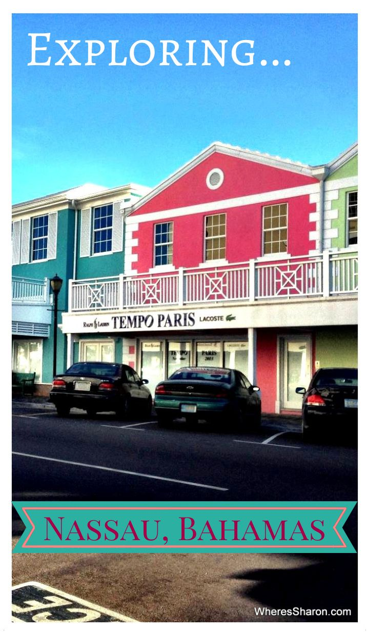 Exploring the fun port of #Nassau in the Bahamas!  Tips, practical information and things to do. http://www.wheressharon.com/family-trip-usa-caribbean/caribbean-cruise/caribbean-cruise-exploring-cruise-port-nassau-bahamas/