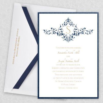 414 best Wedding Invitations images on Pinterest Invitation ideas