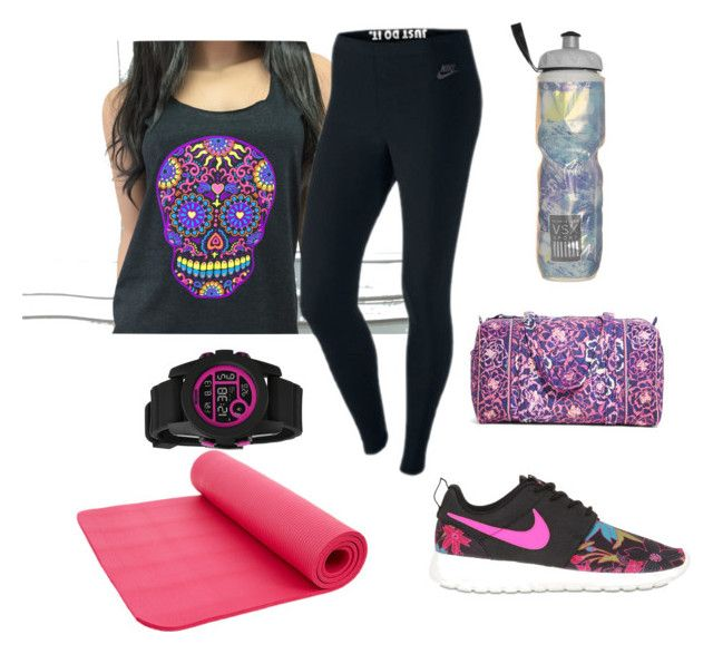 Untitled #2 by mokatsanemk on Polyvore featuring NIKE, Vera Bradley, Nixon, Victoria's Secret, women's clothing, women's fashion, women, female, woman and misses
