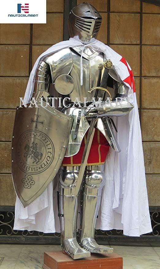 Amazon com: NAUTICALMART Medieval Knight Full Suit of Armor