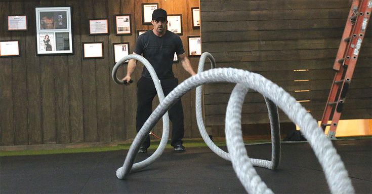 Battle Rope Training for Grapplers