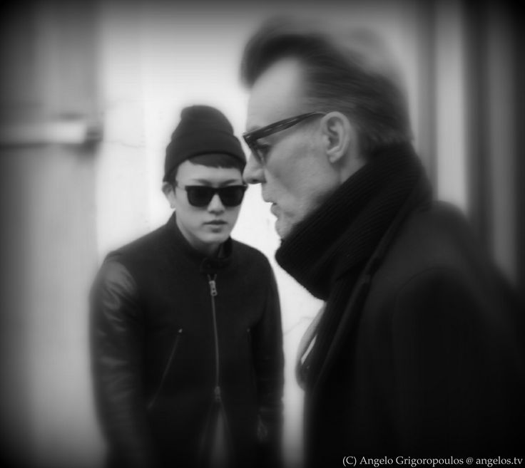 Paris Art - Men in black and white - Photo by Angelo Grigoropoulos @ angelos.tv