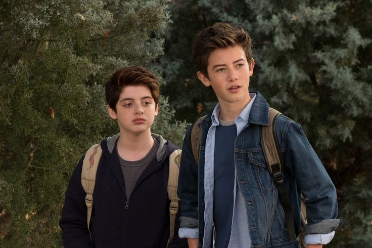 Griffin Gluck and Thomas Barbusca in Middle School: The Worst Years of My Life