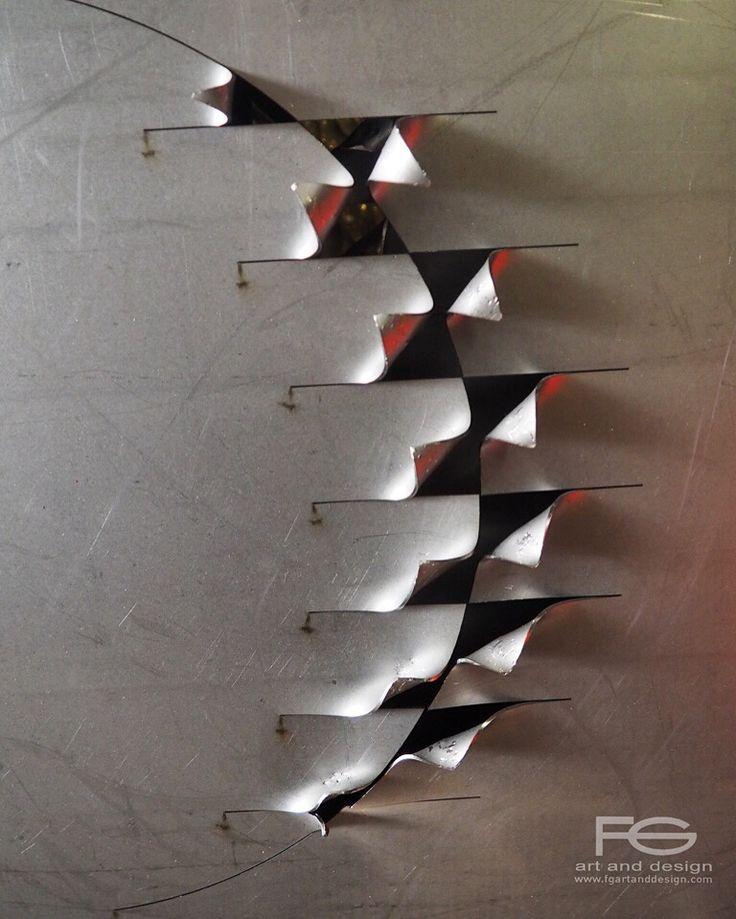 LISCA wall sculpture Work in progress Size 50x50cm https://instagram.com/p/BEX-CE7IsPc/