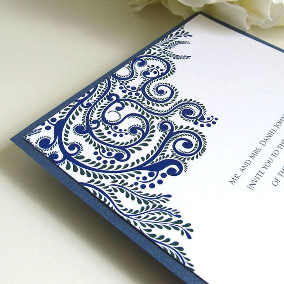 Printable Wedding Invitations Indian Wedding Invitations Digital Files for Self-Print