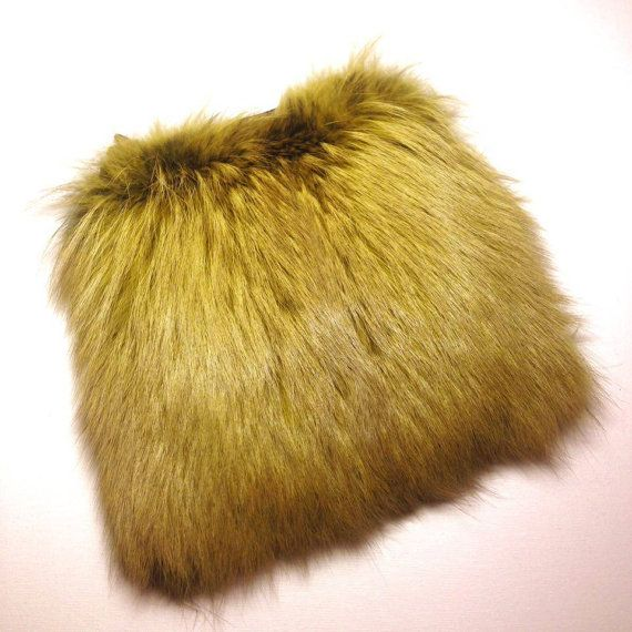 Hight Quality Real Fox Fur Crossbody Bag Amber by TrixiCookies