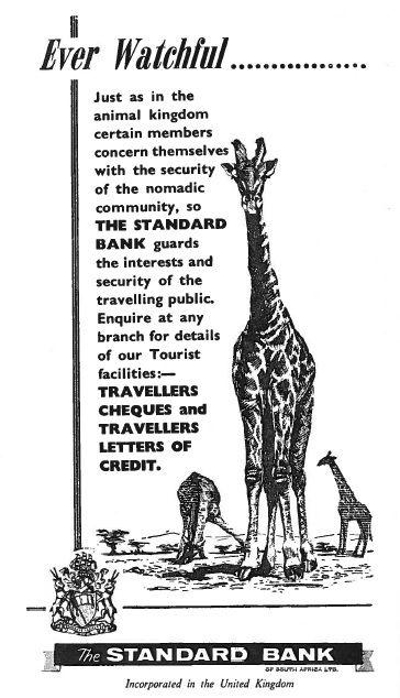 #StandardBank East Africa Advertisement (1960) #MovingForward