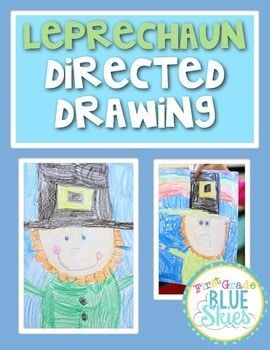 Just a quick set of instructions for guiding your class through a directed drawing of a leprechaun for St Patrick's Day. Another idea would be to leave the instructions in your writing or art station and have kids create them on their own. There is a video to accompany the drawing activity on my blog: First Grade Blue SKies