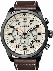 Citizen Eco Drive Chronograph Watch With A 45mm Black Pvd Case Ca4215 04w Omega Seamaster Watches For Men Fashion Watches