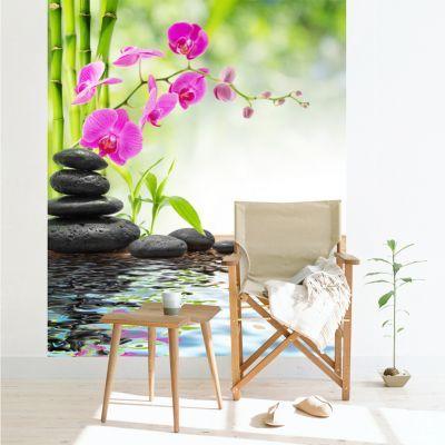 Fototapet personalizat Pink Orchid