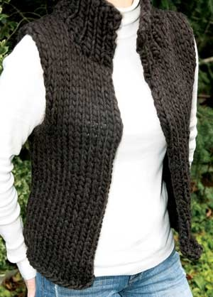 SUPER BULKY WINTER VEST PATTERN - Product Details
