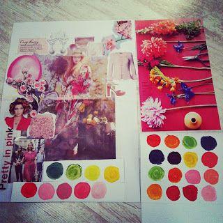 Opdracht: maak een kleurenpalet bij een foto. Leuke opdracht voor de bovenbouw!