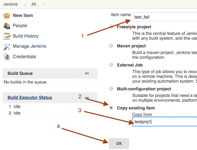 Jenkins how to clone a project - InfoHeap