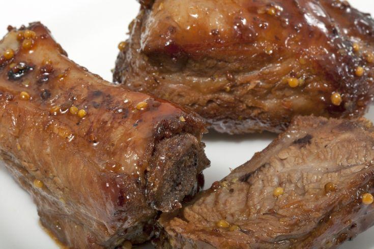 Bravčové mäso s medom