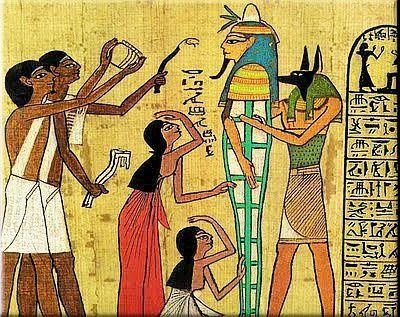 Egyptische kunst en cultuur in het oude Egypte, De Nijl als ...