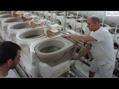 Így készül a vécé - YouTube