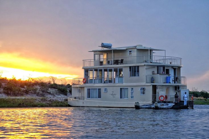 The Chobe Princess - laid-back and personal luxury houseboat