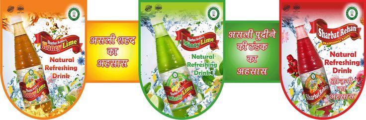 #rehan Sharbat three flavours