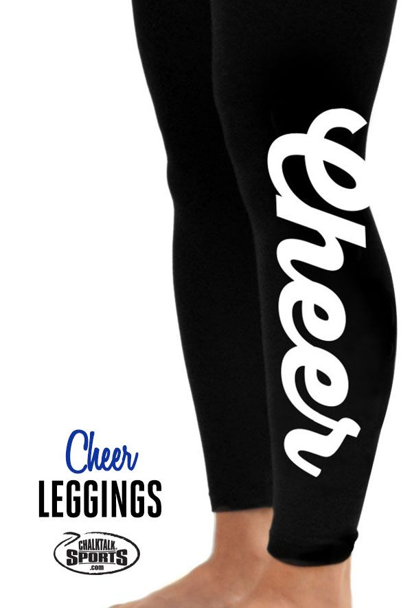 Check out these adorable cheer leggings!