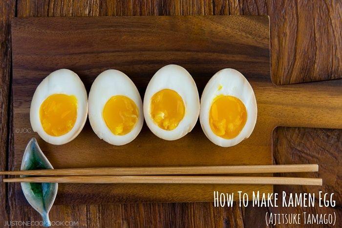 Ramen Egg (Ajitsuke Tamago) #ramen | Easy Japanese Recipes at JustOneCookbook.com