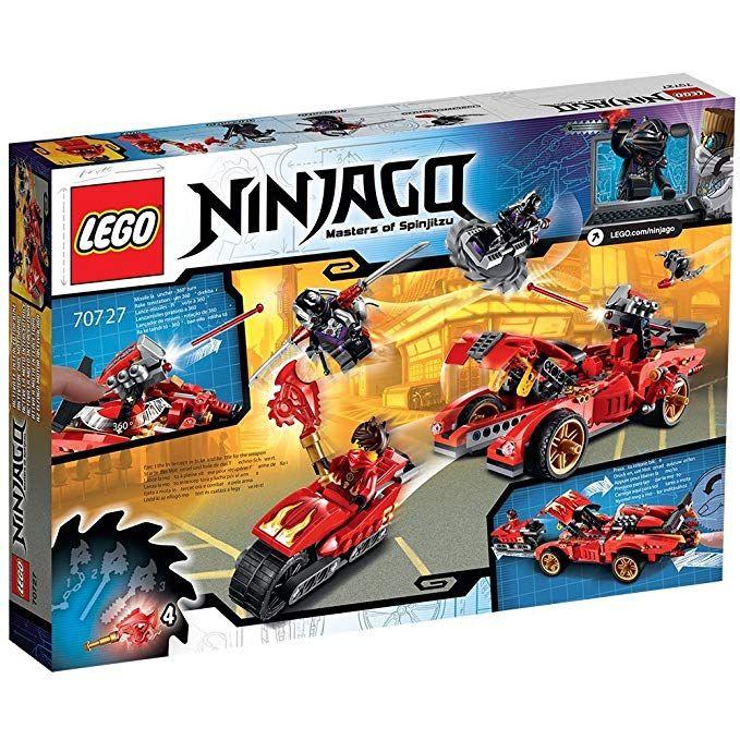 Lego Ninjago 70727 X 1 Ninja Supercar Lego Spielzeug Lego