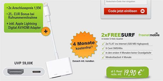 Apple Lightning Digital AV Adapter für 4,90€ ★Schubladenvertrag★ http://www.simdealz.de/aktionen/apple-adapter-guenstig/