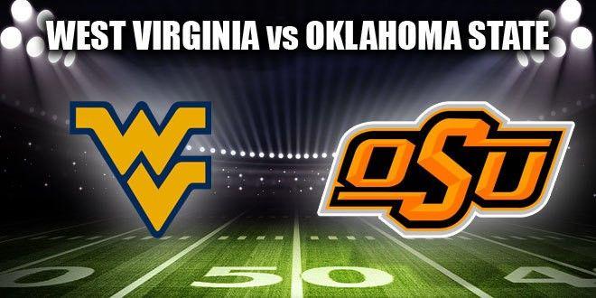 Oklahoma State Cowboys vs West Virginia Mountaineers