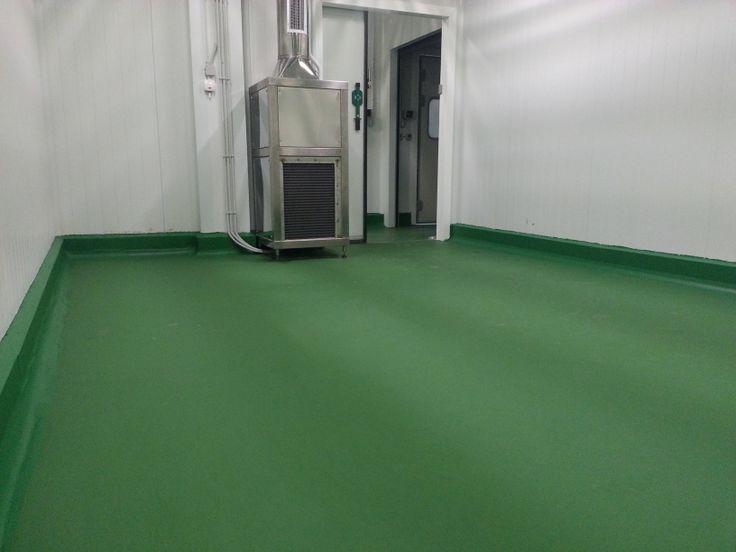 Pavimento de poliuretano cemento c mara de ahumado for Pavimento de cemento
