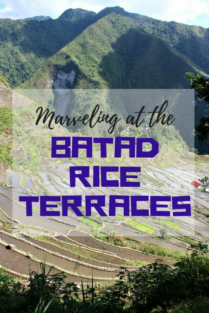 Marvelling at the Batad Rice Terraces - an incredible 2,200 year old feat of engineering. Batad is remote, beautiful, historic, friendly and very different than many of the other popular tourist spots in the Philippines, which makes Batad definitely worth a visit | The World on my Necklace