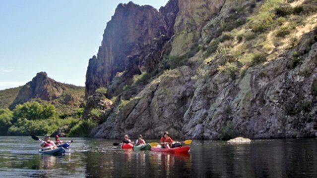 Great Family Adventures: Four Seasons Resort Scottsdales Kids Kayak Tour