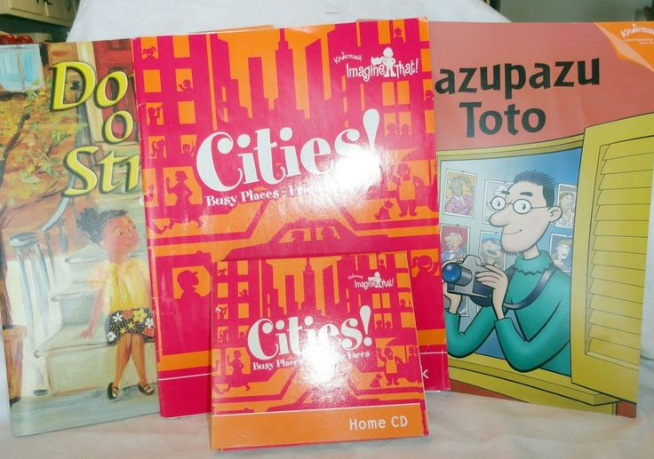 Kindermusik Cities! Song Activity Book CD Set Plus 2 Additional Books #Kindermusik