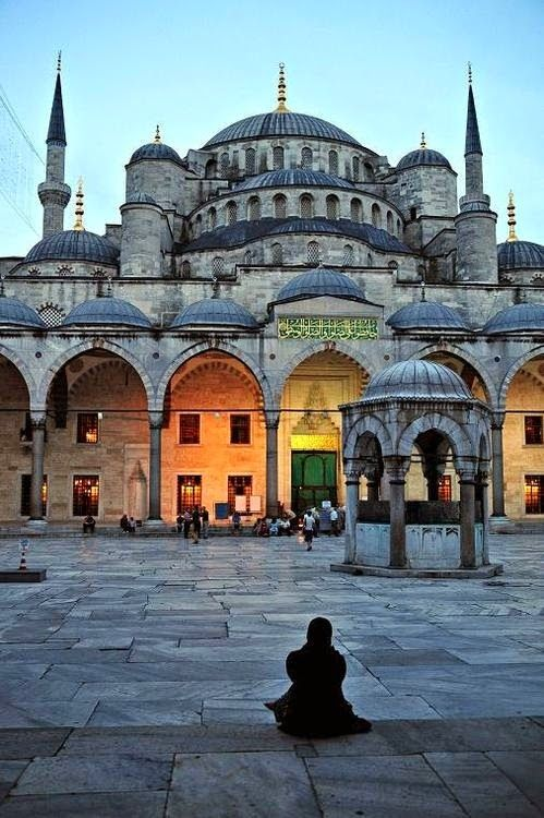 The Blue Mosque in Istanbul - Turkey