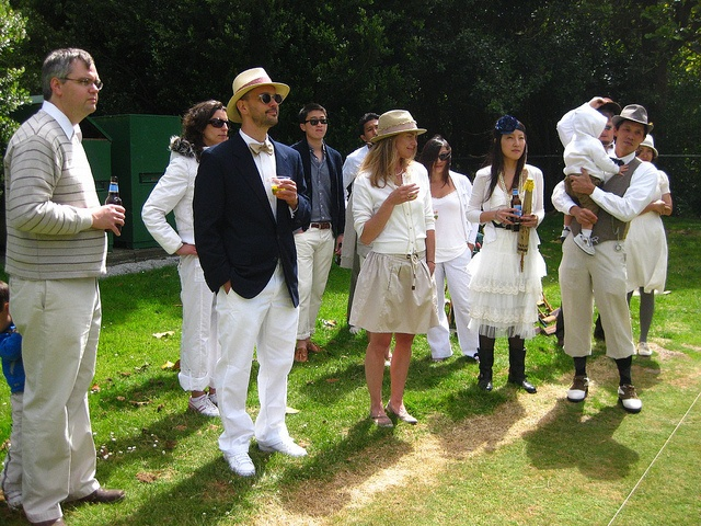 croquet white party - Google Search