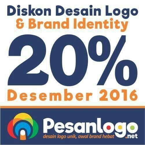 Desain logo & brand identity unik,  membantu bisnis lebih menarik. #pesanlogo.net #diskon 20% Des 16 #logo #desainlogo #brand