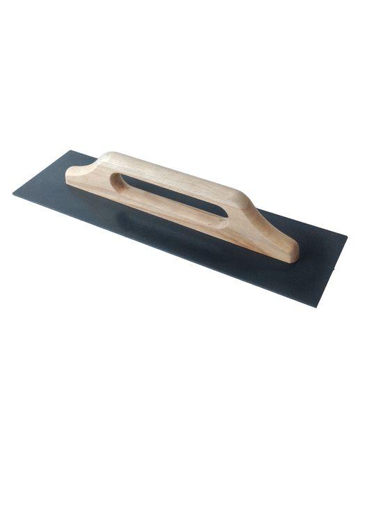 two-hands trowel wooden handle ABS plate