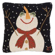 Hooked Happy Snowman