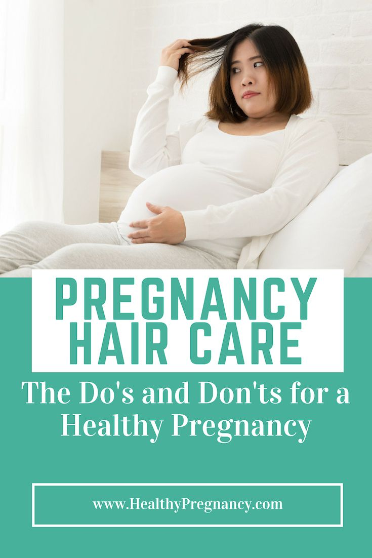 Beauty Dos and Don'ts During Pregnancy recommendations